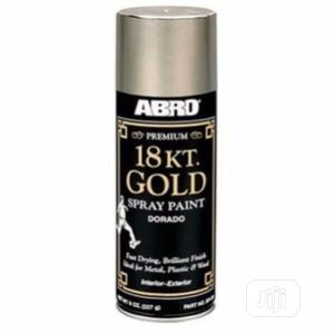 Abro Gold Spray Paint | Building Materials for sale in Lagos State, Lagos Island (Eko)