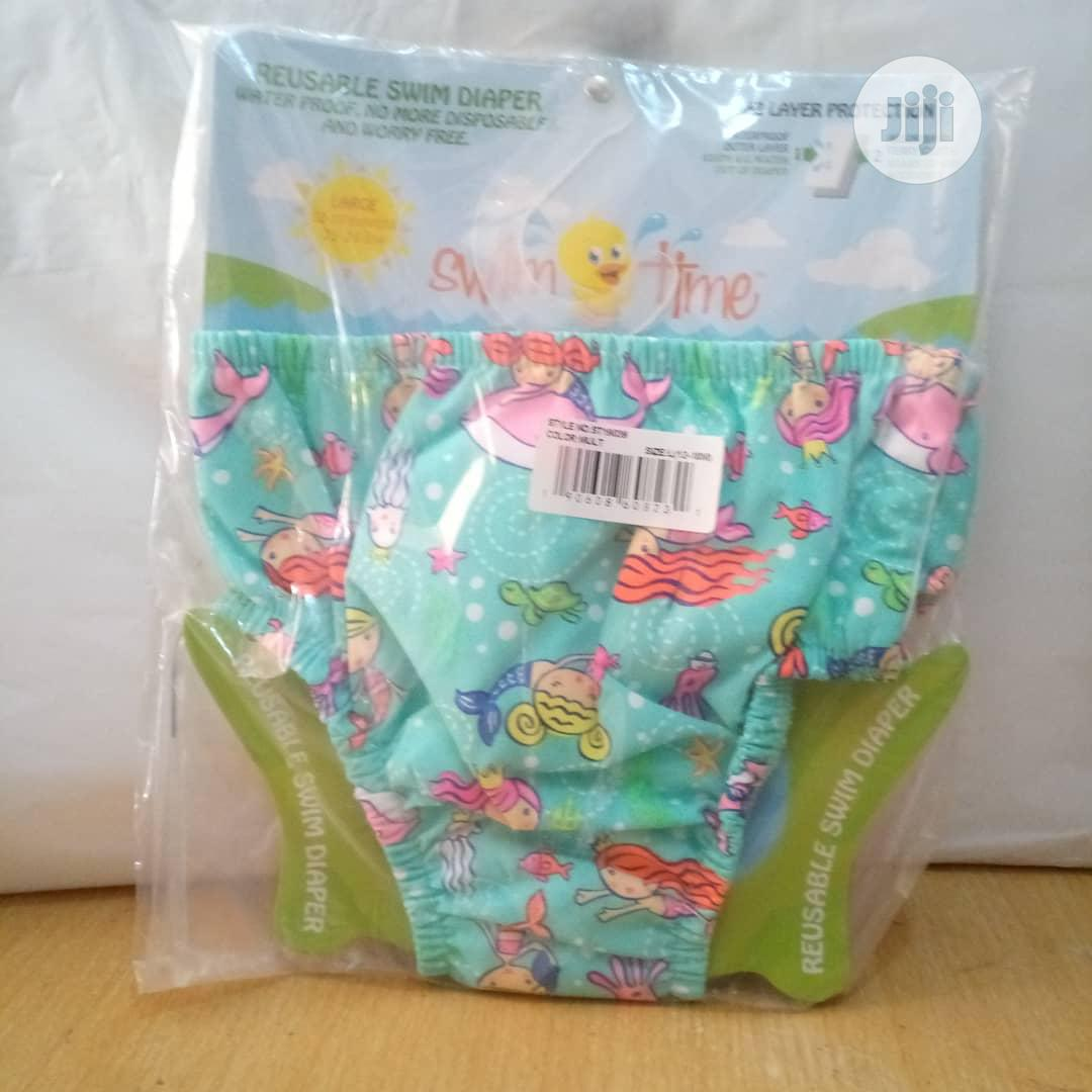 Reusable Absorbent Swim Diaper