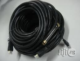 50m HDMI Cable With IC 4k Black Hd | Accessories & Supplies for Electronics for sale in Lagos State, Ikeja