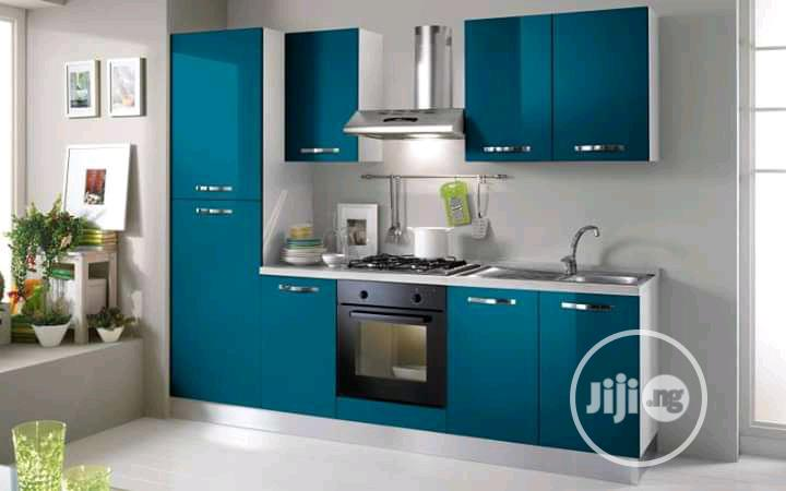 Archive Simple Kitchen Cabinet Design With Mdf Board In Gwarinpa Furniture Warrant Coker Jiji Ng