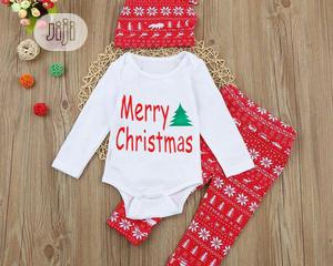 Merry Christmas Set for Baby Boy | Children's Clothing for sale in Lagos State, Alimosho