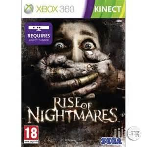 New Xbox 360 Rise Of Nightmares (Kinect)(Pal)