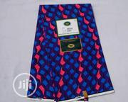 Violet-Blue and Pink Vlisco Holland - 6 Yards | Clothing for sale in Abuja (FCT) State, Kubwa
