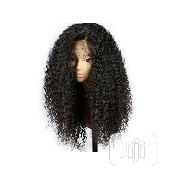 Archive: Soft Quality Curly Silky Human Hair Wig