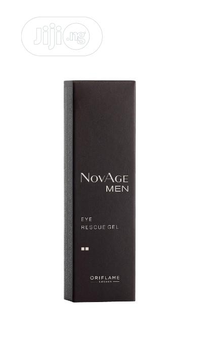 Novage Men Eye Rescue Gel | Skin Care for sale in Alimosho, Lagos State, Nigeria