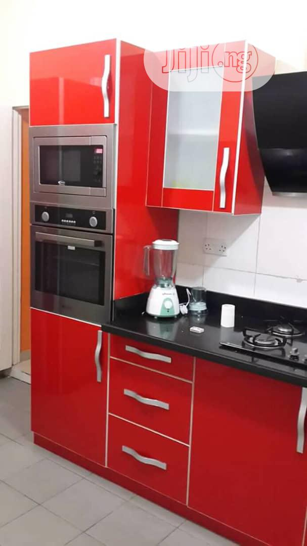 Archive Portable Kitchen Cabinet For Bachelors With Micro Wave Cupboard In Gwarinpa Furniture Warrant Coker Jiji Ng
