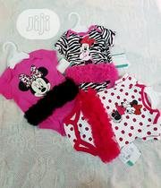 Disney Baby Girls Tutu Cotton Bodysuits For 3-6 & 6-9 Months | Children's Clothing for sale in Lagos State, Victoria Island