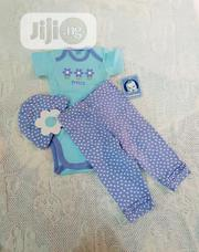 Gerber Baby Girls 3 Piece Set For 3 To 6 Months | Children's Clothing for sale in Lagos State, Victoria Island