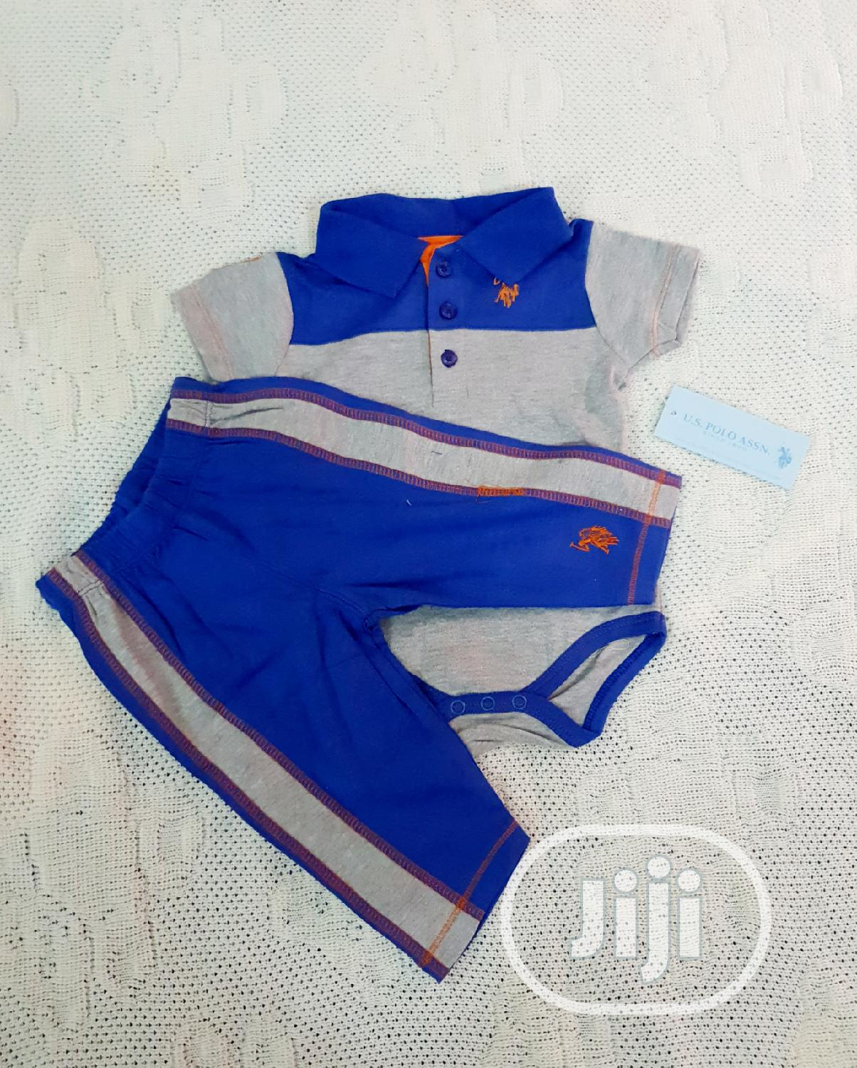 Archive: US Polo Assn. Baby Boys 2 Piece Set for 3 to 6 Months