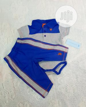 US Polo Assn. Baby Boys 2 Piece Set for 3 to 6 Months | Children's Clothing for sale in Lagos State, Victoria Island