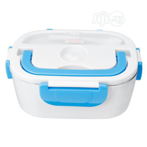 Stainless Steel Portable Electric Heated Lunch Box | Kitchen & Dining for sale in Lagos Island (Eko), Lagos State, Nigeria