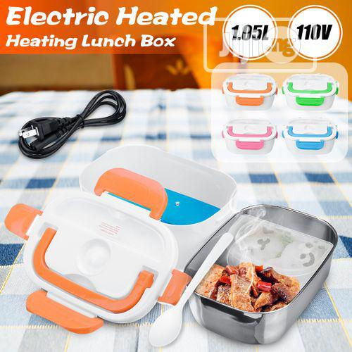 Stainless Steel Portable Electric Heated Lunch Box