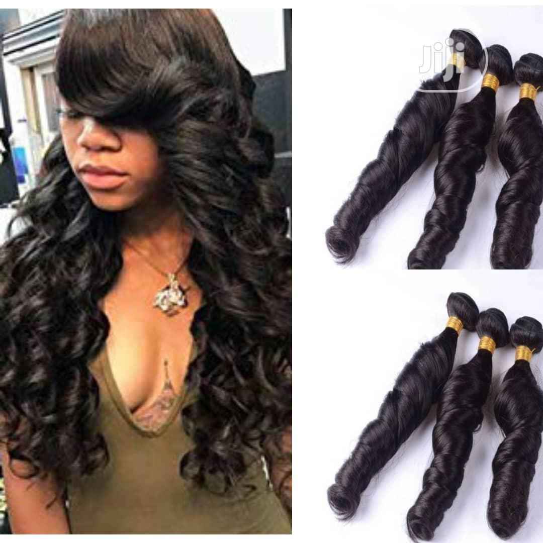 "20"" Bouncy Romance Curls Hair (6 Full Bundles) COL 1B 