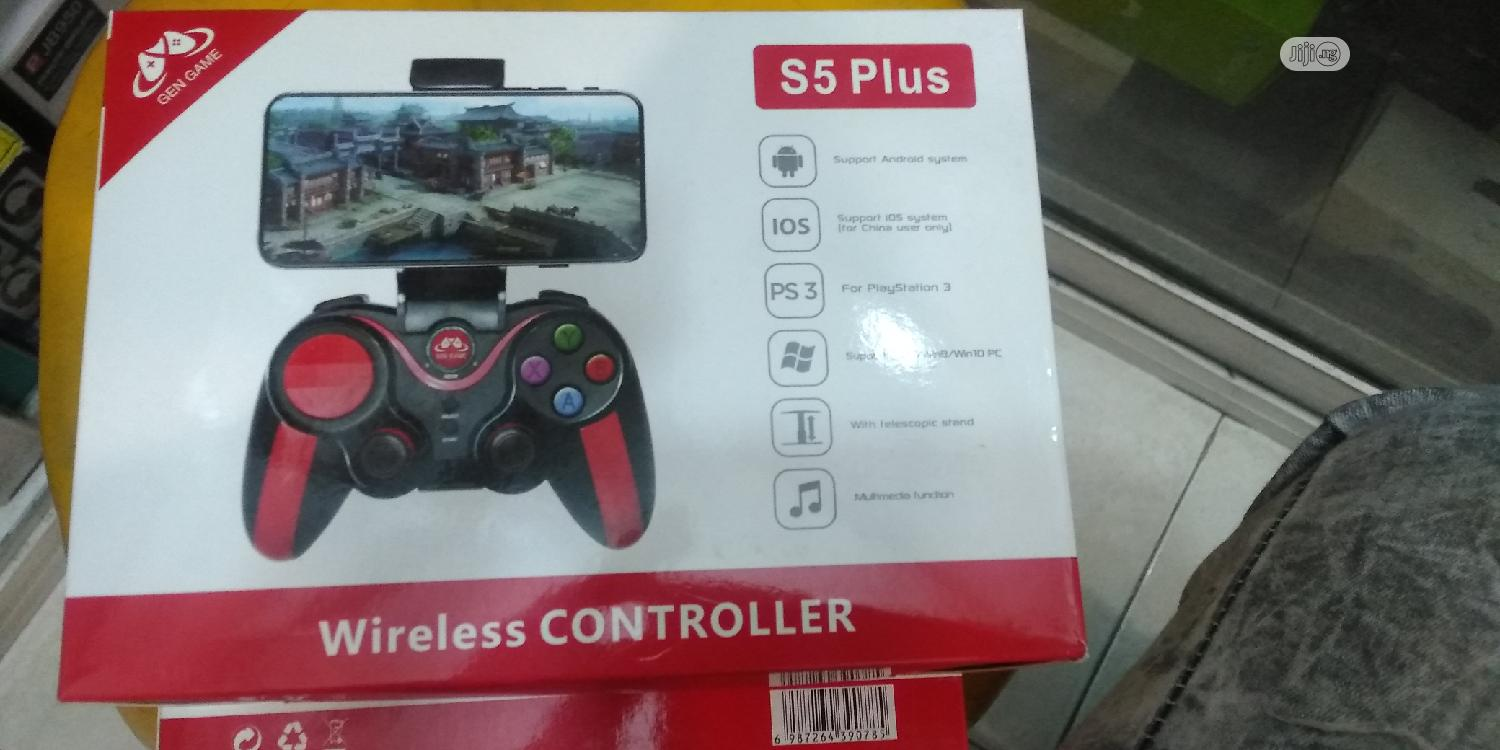 S5 Plus Wireless Controller | Accessories & Supplies for Electronics for sale in Ikeja, Lagos State, Nigeria