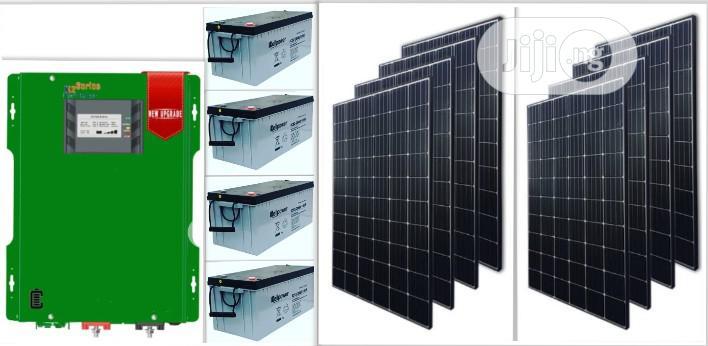 Complete 5kva Solar Powered Inverter Installation