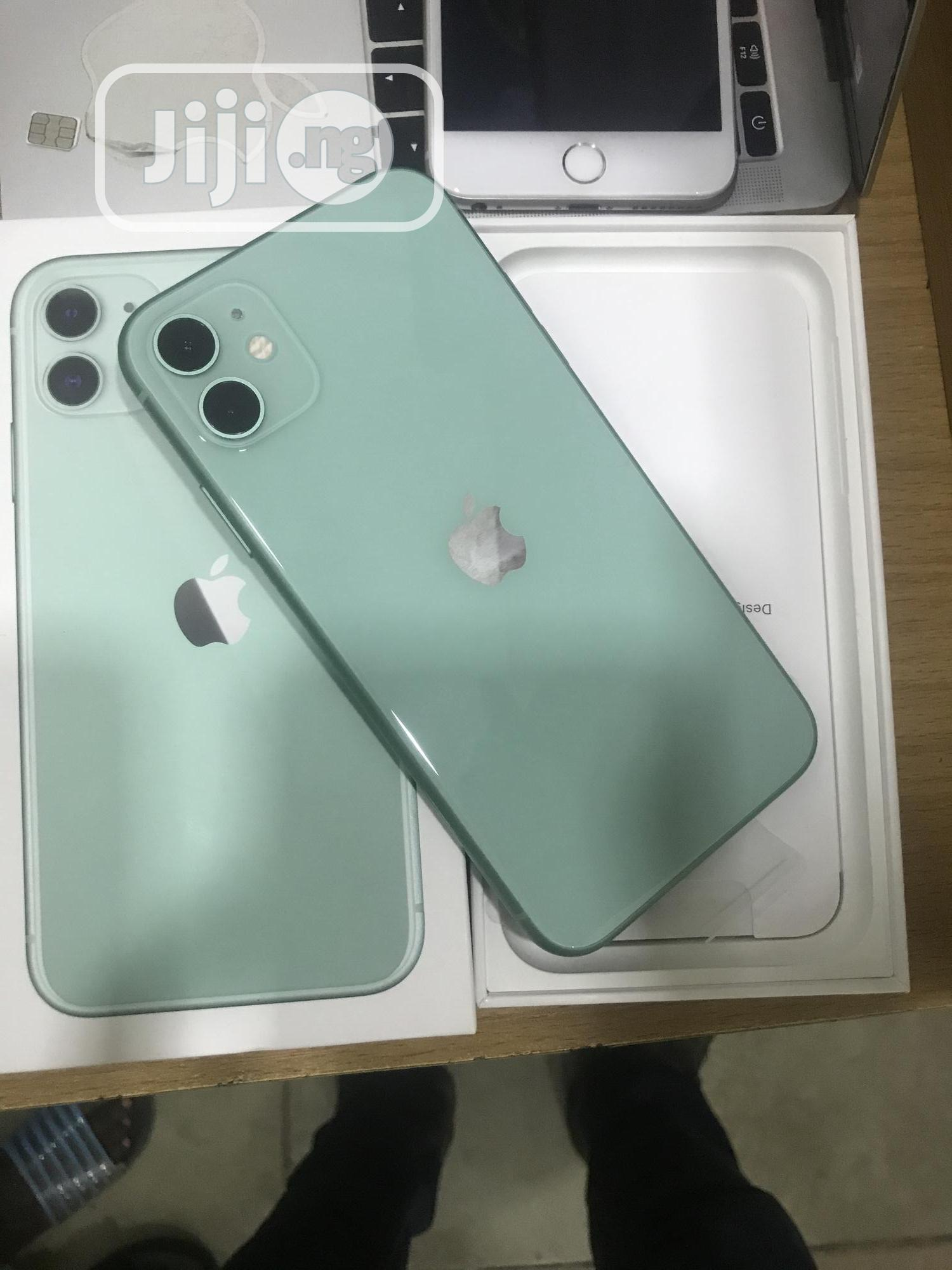 New Apple iPhone 11 64 GB Green   Mobile Phones for sale in Ikeja, Lagos State, Nigeria