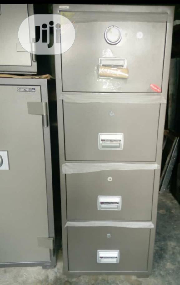 Brand New 4 Drawers Fire Proof Safe With Security Numbers And Key's
