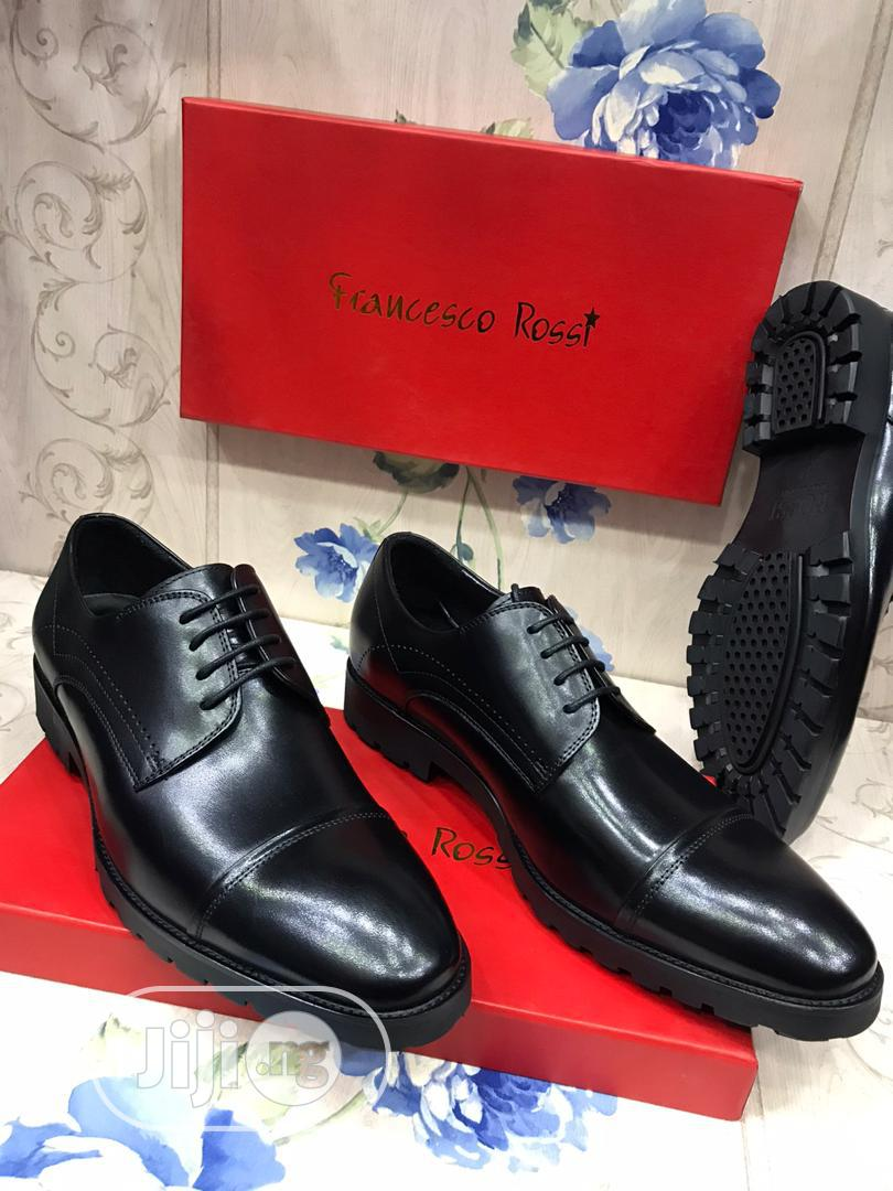 Francesco Rossi Leather Lace Shoe