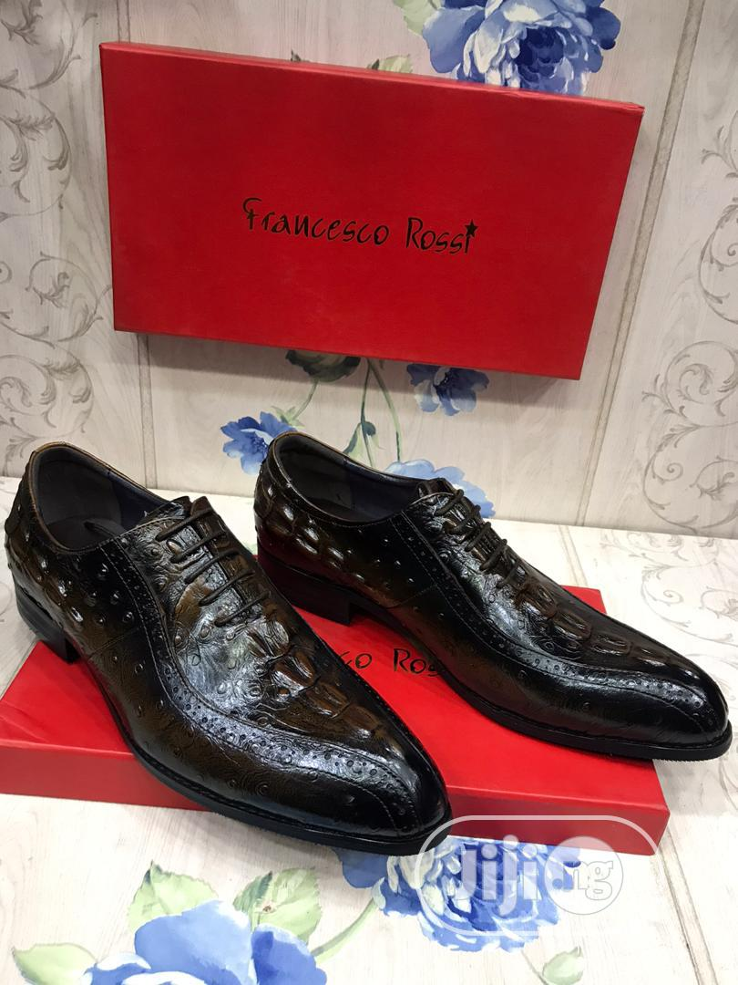 Francesco Rossi Leather Lace Shoe | Shoes for sale in Lagos Island, Lagos State, Nigeria