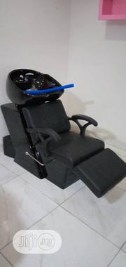 Shampoo Leather Chair | Health & Beauty Services for sale in Abuja (FCT) State, Kubwa