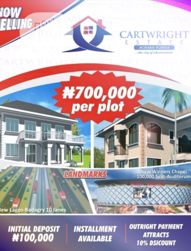 Plots of Land for Sale at Agbara With Registered Survey and Lay Out