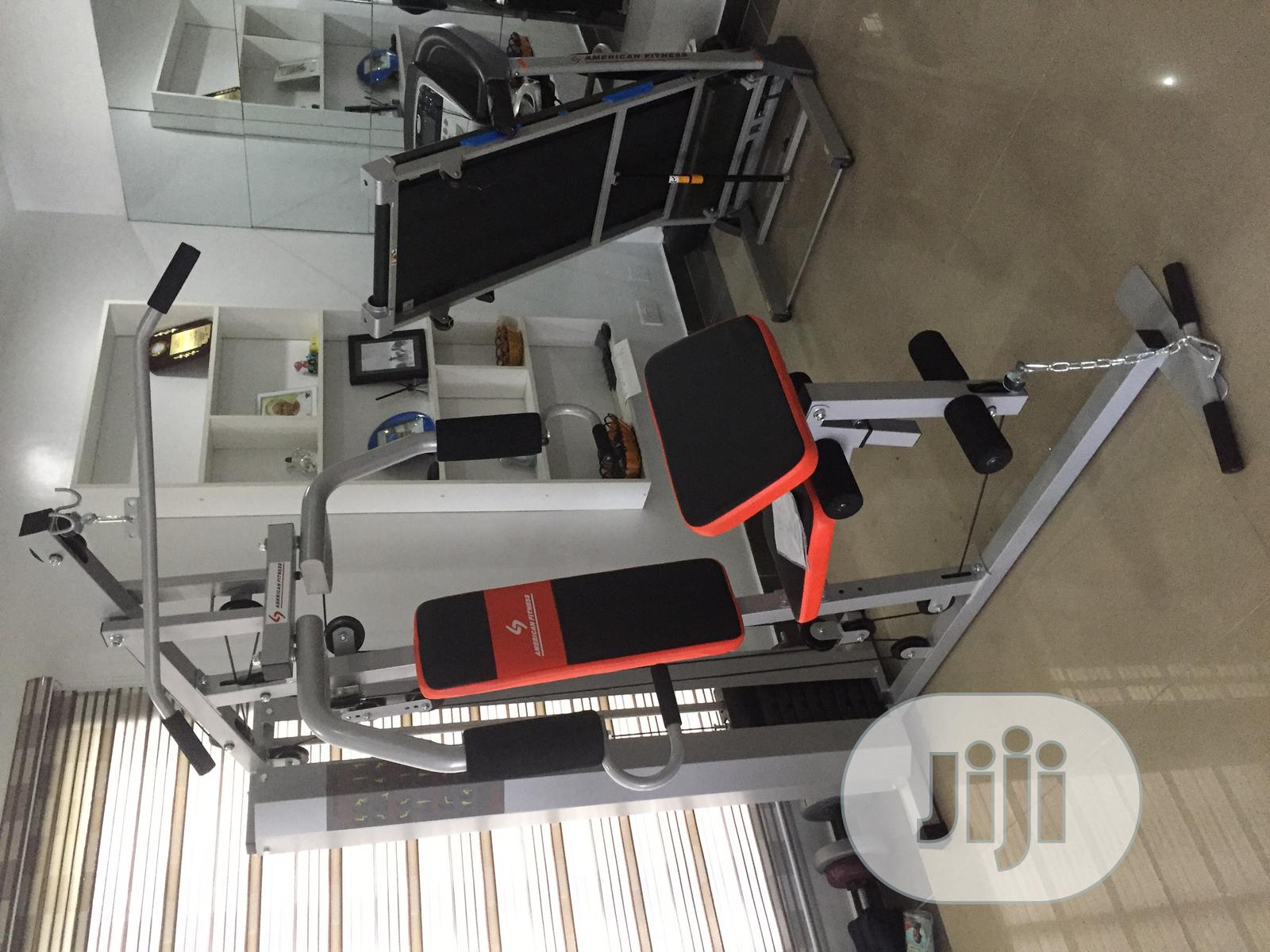 AMERICAN FITNESS Brand New Imported One Multi Station GYM