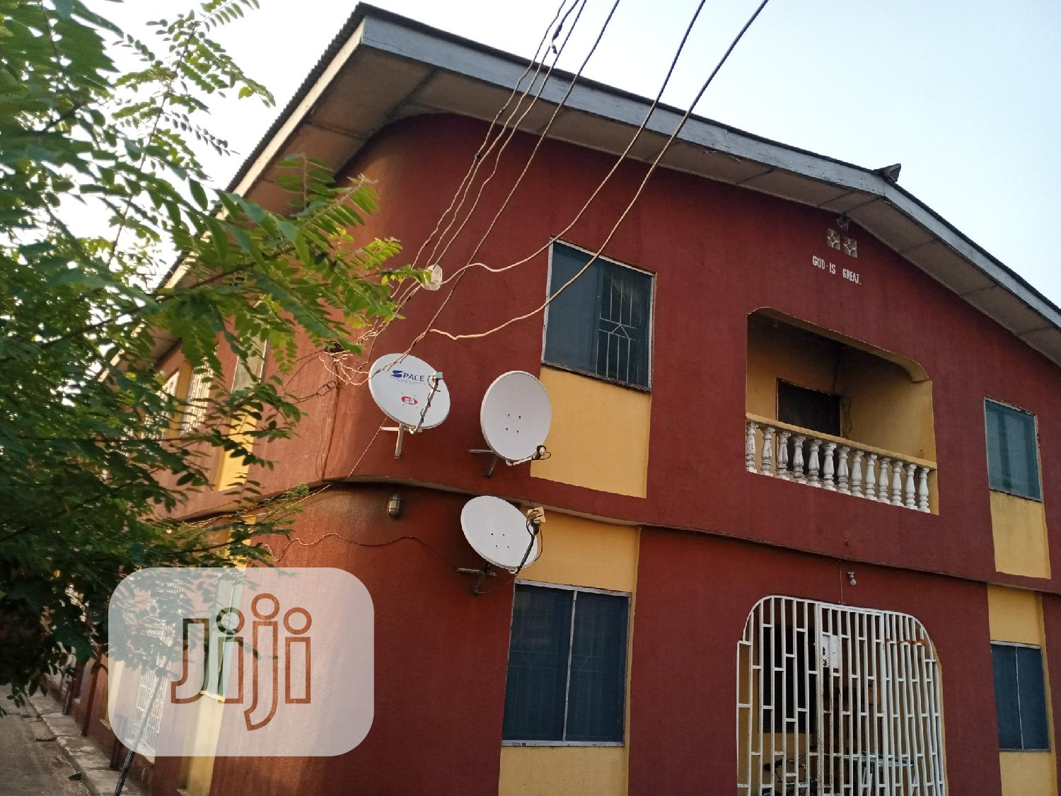 Twin Storey Building of 6 Flats BQ | Houses & Apartments For Sale for sale in Ojo, Lagos State, Nigeria
