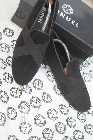 Black Royal Shoe With Black Cross   Shoes for sale in Lagos State, Mushin