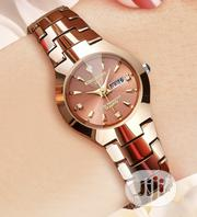 Unisex Water Proof Watch- Coffee Gold | Watches for sale in Oyo State, Ibadan