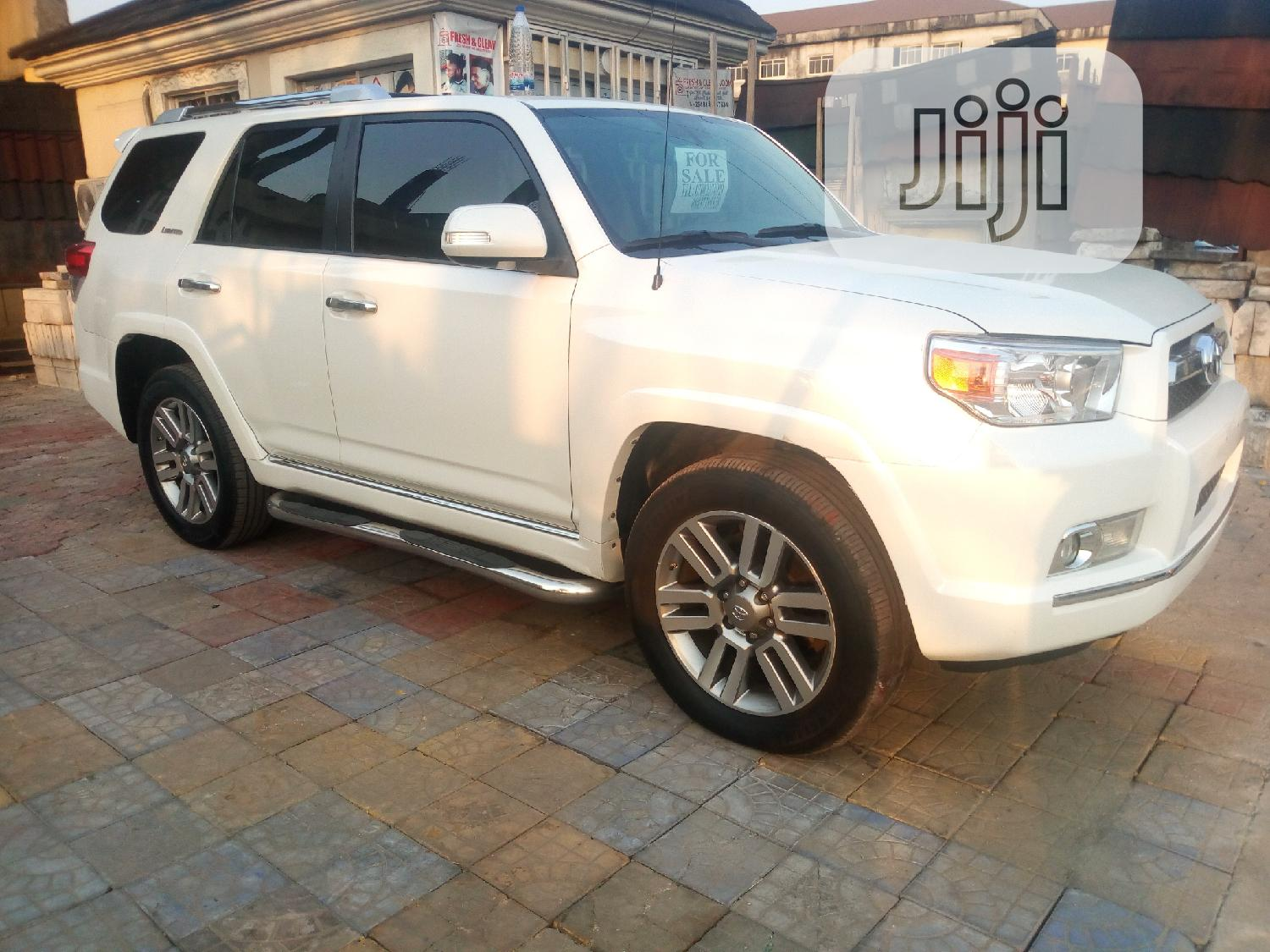 Toyota 4 Runner Limited 4wd 2010 White In Port Harcourt Cars Anyanwu Joseph Jiji Ng For Sale In Port Harcourt Buy Cars From Anyanwu Joseph On Jiji Ng