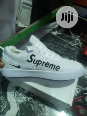 Supreme White Can | Shoes for sale in Lagos State, Lagos Island (Eko)