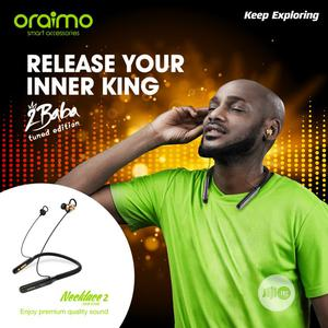 Oraimo Necklace 2 Headset - 2baba Tuned Edition | Headphones for sale in Lagos State, Gbagada