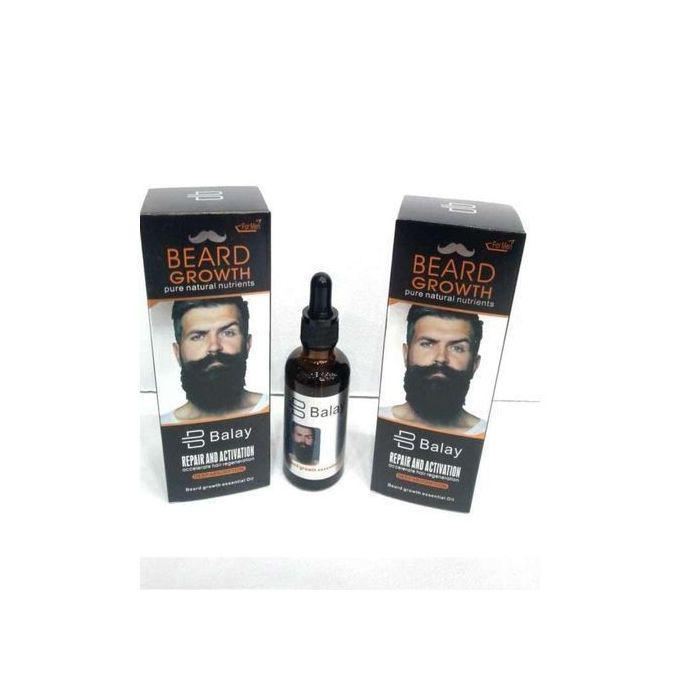 Balay Fast Beard Growth and Bald Head Oil for Hair