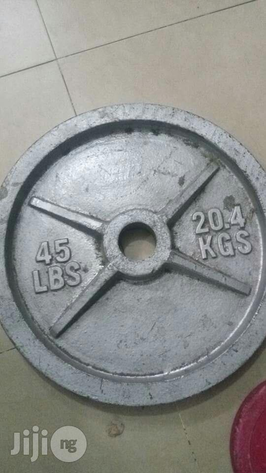 Olympic Barbell Plate