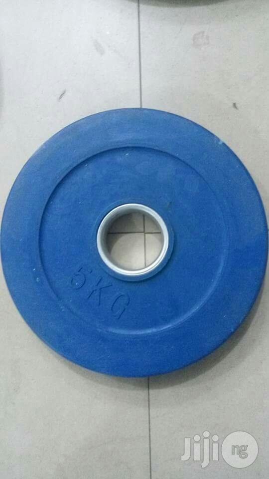 Olympic Barbell Plate | Sports Equipment for sale in Ikeja, Lagos State, Nigeria