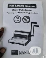 Calendar Wire Binding Machine | Stationery for sale in Lagos State, Lagos Island