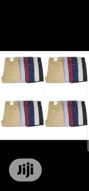 Lacoste Chinos Trousers Original One   Clothing for sale in Lagos State, Surulere