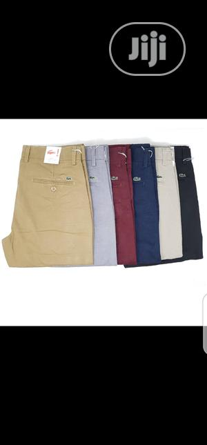 Lacoste Chinos Trousers Original Quality   Clothing for sale in Lagos State, Surulere
