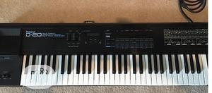 Used Roland D20 Synthesizer Keyboard   Musical Instruments & Gear for sale in Lagos State, Yaba