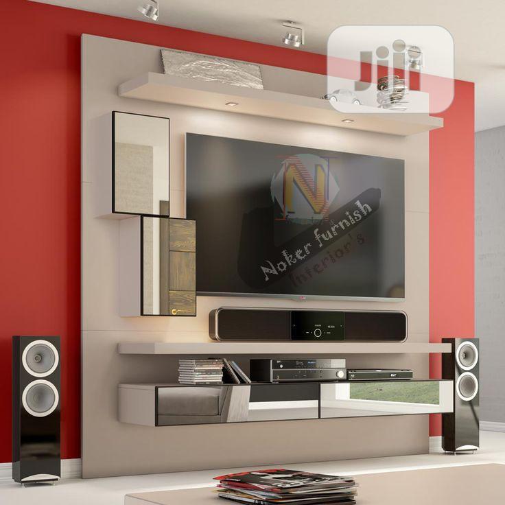 Luxury Panel Wall TV Stand