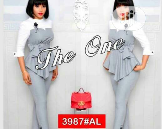 New the One Female Trouser Suit