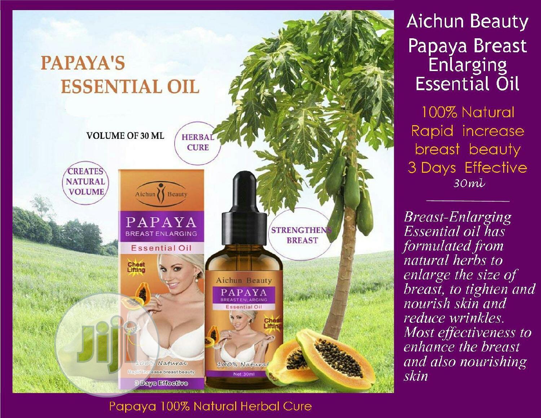 Papaya Breast Enlargement Oil