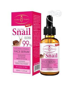 Aichun Beauty Collagen+Vitamin E Snail Face Whitening Serum- 99% | Skin Care for sale in Lagos State, Mushin