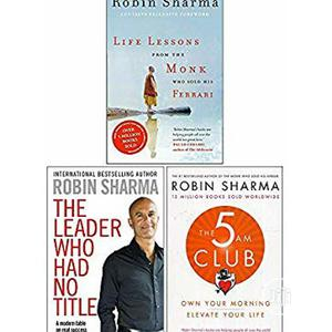3 Great Book By Robin Sharma.Free Delivery   Books & Games for sale in Lagos State, Surulere