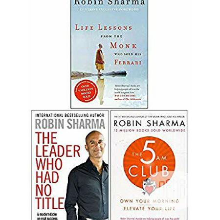 Archive: 3 Great Book By Robin Sharma.Free Delivery