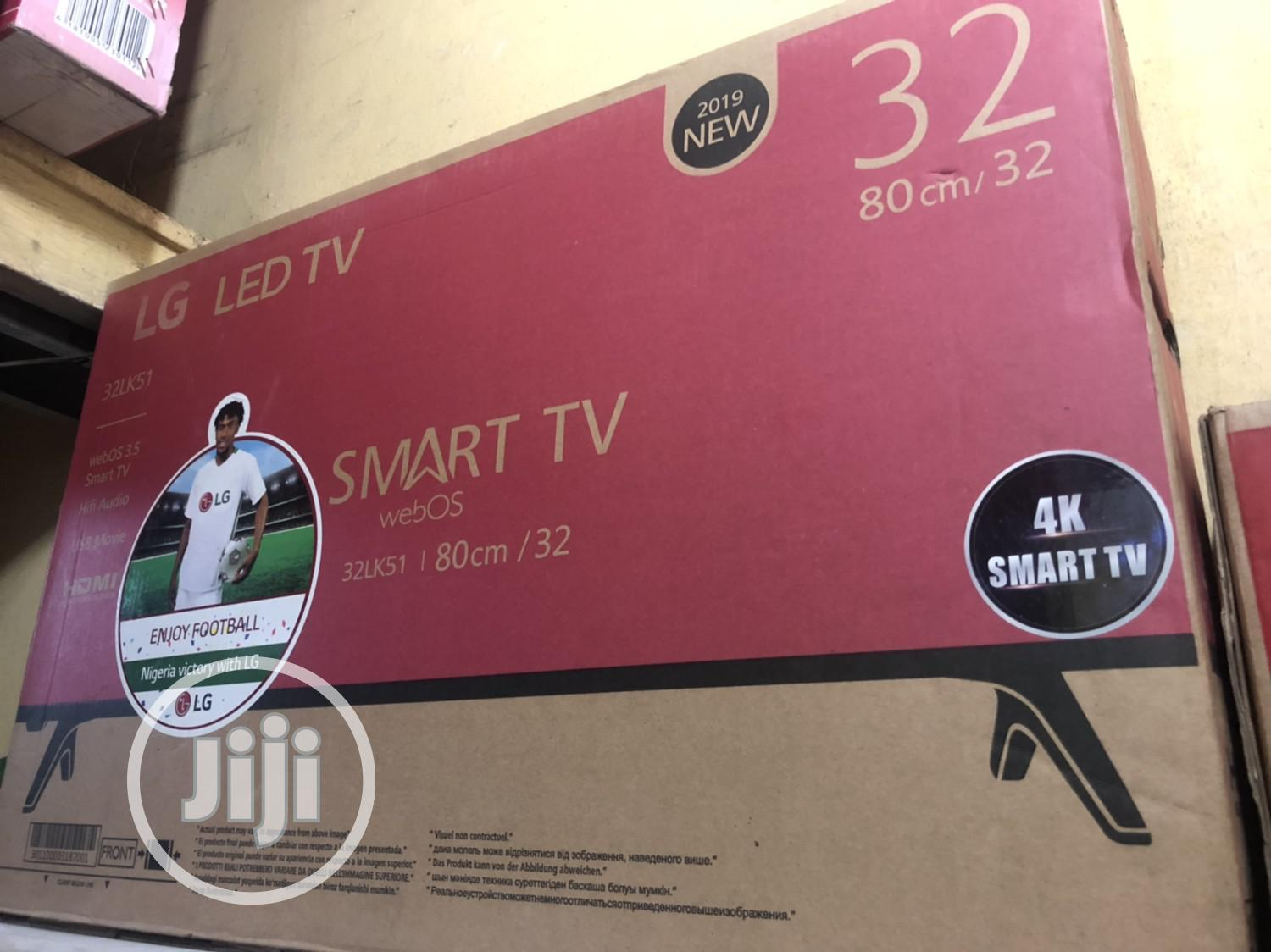 LG 32inchs Led Smart With Good Quality Products | TV & DVD Equipment for sale in Ikeja, Lagos State, Nigeria