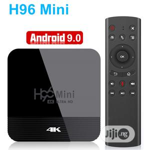Android 9.0 TV Box H96mini 4K Ultra HD | TV & DVD Equipment for sale in Lagos State, Ikeja