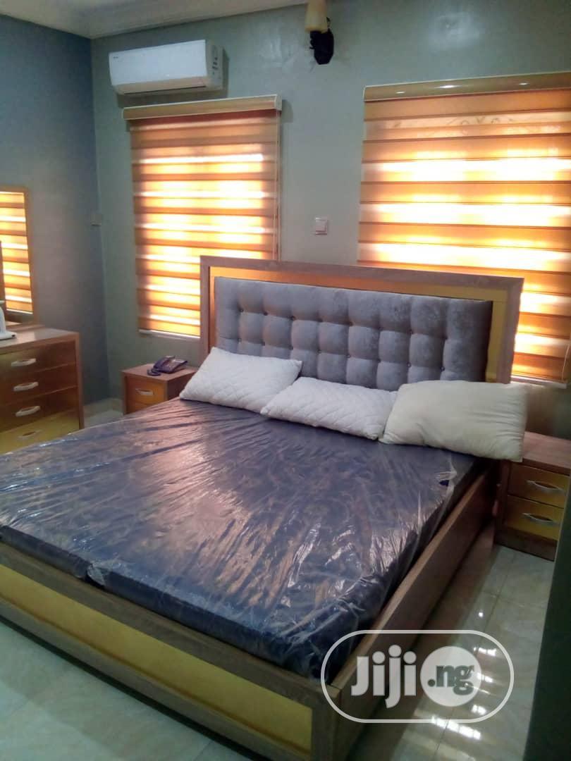 Image of: Modern Bed Frames With 2 Bed Side In Mushin Furniture Aweda Olajide Jiji Ng