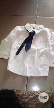 Boys Shirt With Tie   Children's Clothing for sale in Lagos State, Ikorodu
