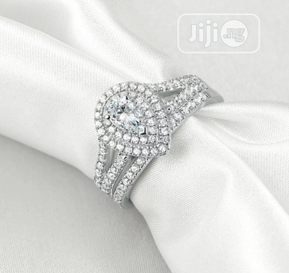 Archive: Pearl Rose Sterling Silver Wedding Rings